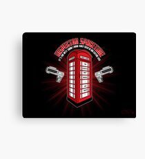 Inspector Spacetime Canvas Print