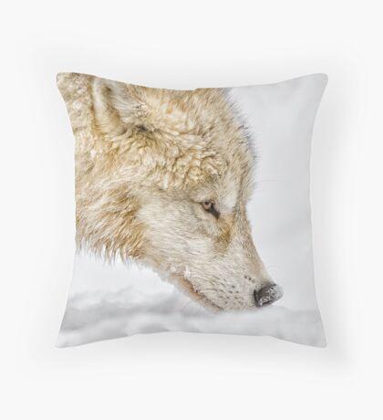Nosing Around Throw Pillow