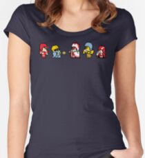 Final Fantasy Football Women's Fitted Scoop T-Shirt