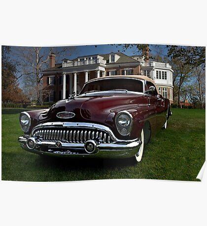 1953 Buick Skylark Convertible Poster