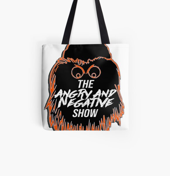 New Angry & Negative Show logo All Over Print Tote Bag