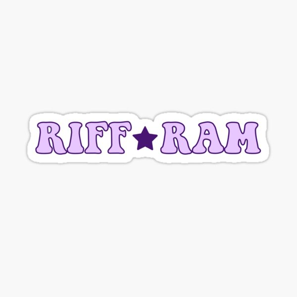 TCU RIFF RAM Star  Sticker