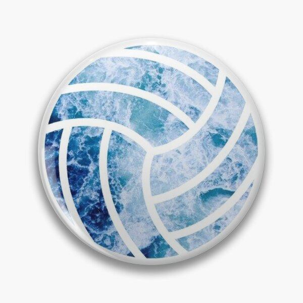 Volleyball Ocean Pin