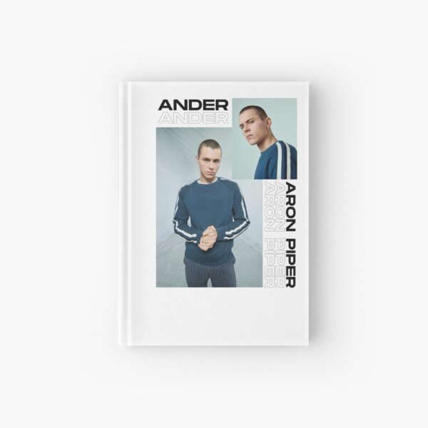 ANDER - ARON PIPER Hardcover Journal