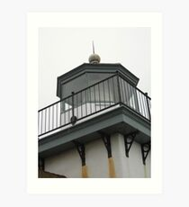 Looking Up At The Lighthouse Art Print