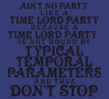 Time Lord Party