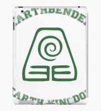 earth bender iPad Case/Skin