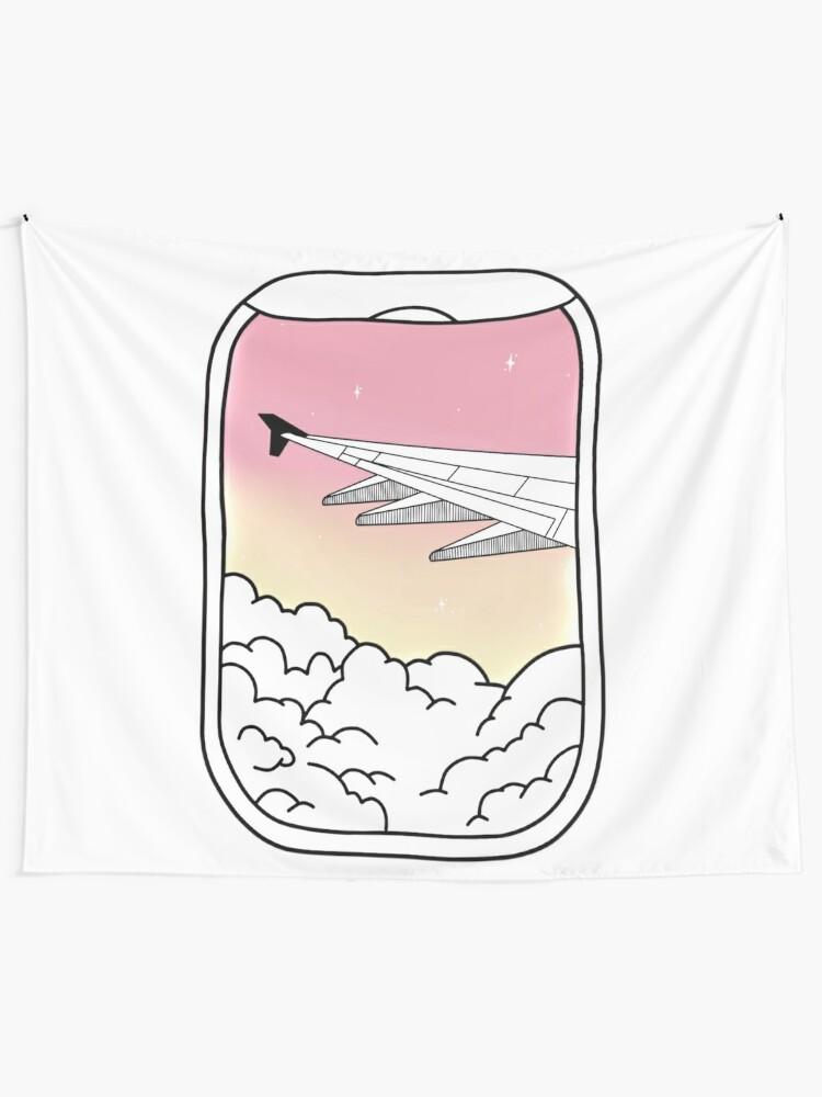 Aesthetic Plane Window Tapestry By Jennagardnerr Redbubble