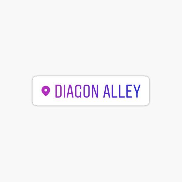 Diagon Alley Sticker