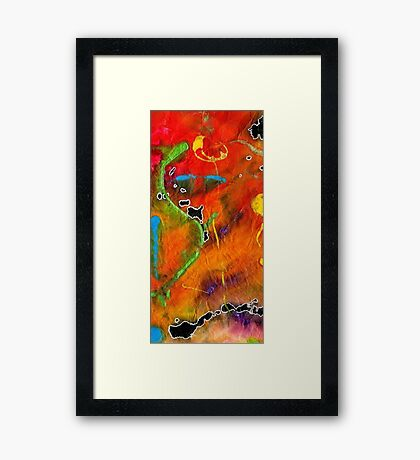 The Joys of Summer II Framed Print