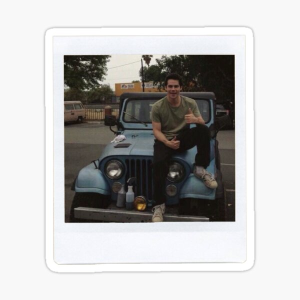 Dylan O'Brien Polaroid Sticker