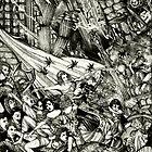 Symphony Of Terror ( Monochromatic Version )  by John Dicandia ( JinnDoW )
