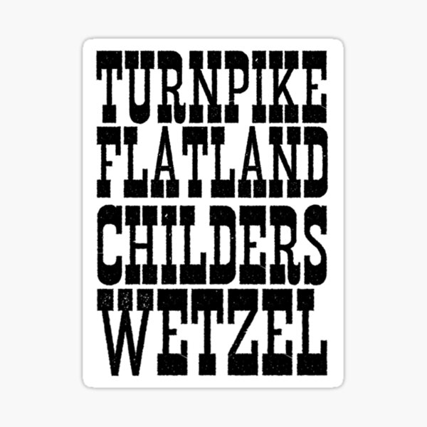 Texas Country Music Sticker