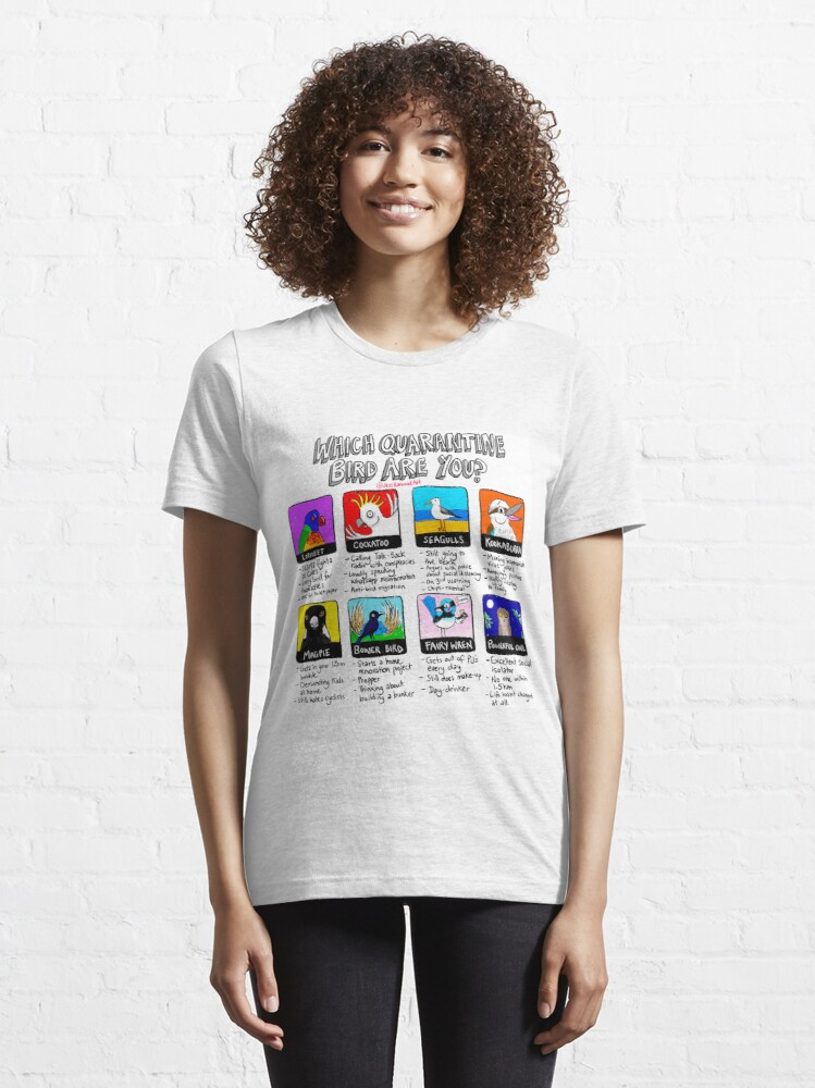 Alternate view of Which Quarantine Bird Are You?  Essential T-Shirt