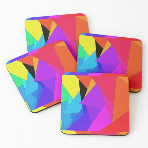 Shattered Dreams Coasters (Set of 4)