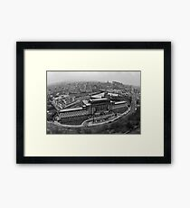 St Andrews House Edinburgh Framed Print