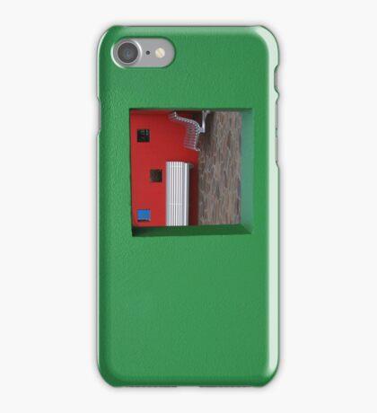 Green Phone iPhone Case/Skin
