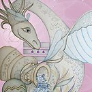 Aquarius Birth Dragon by Natalie Grant