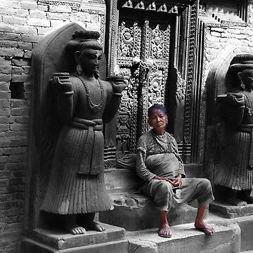 Wise & Wild Woman in Nepal by HappyDesigner