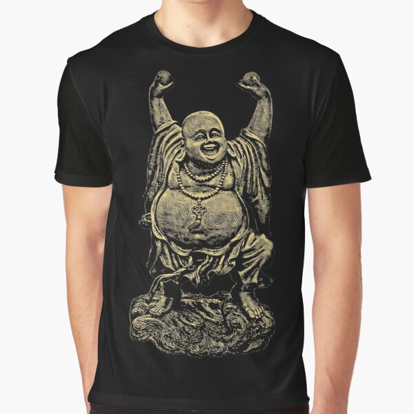 Dancing Buddha. Graphic T-Shirt