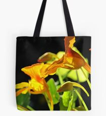 Nasturtium morning glow Tote Bag