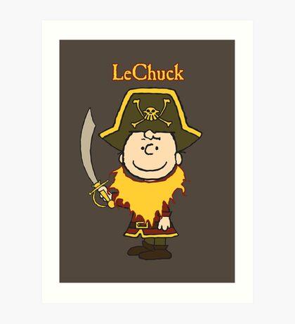 LeChuck Art Print