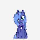 Brush Your Magic Hair Luna! by Empanlegend