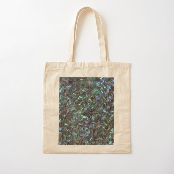 Abalone Shell   Paua Shell   Seashell Patterns   Sea Shells   Natural    Cotton Tote Bag