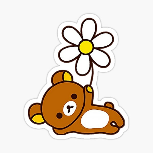rilakkuma flower Sticker