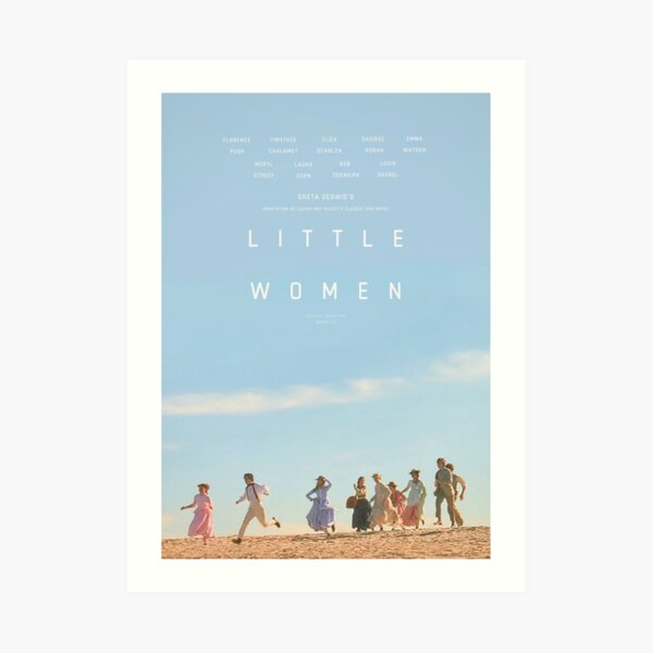 ALTERNATE LITTLE WOMEN (2019) POSTER  Art Print