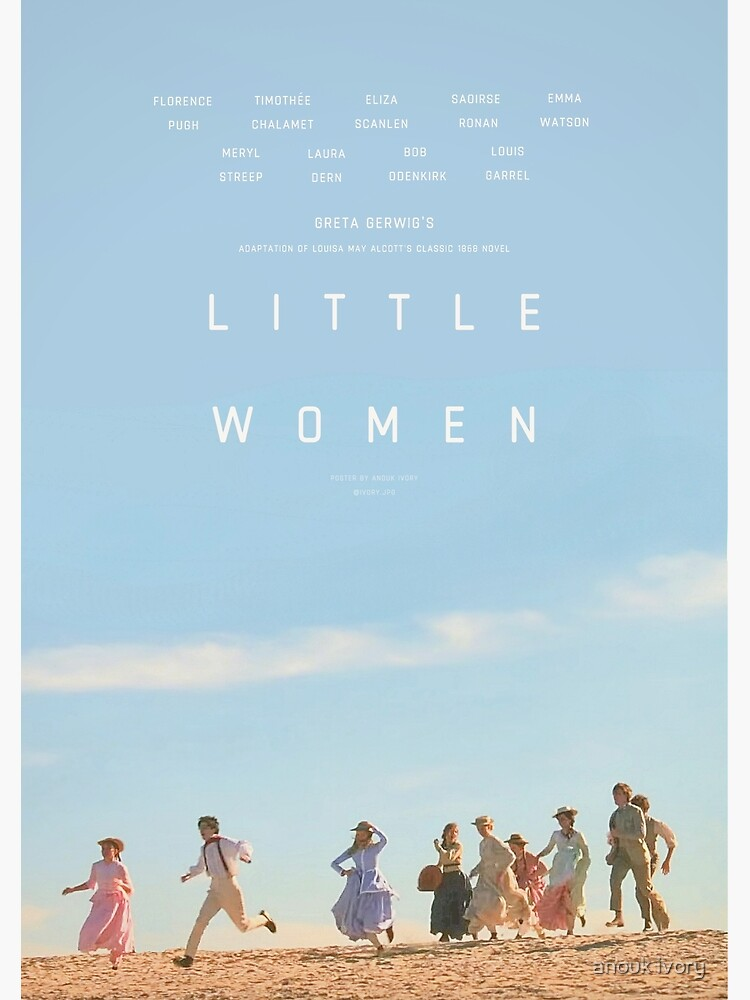 ALTERNATE LITTLE WOMEN (2019) POSTER  by aanouk