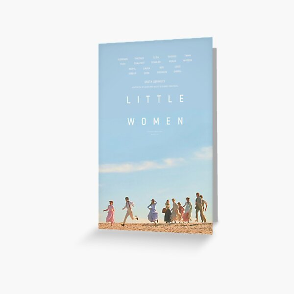 ALTERNATE LITTLE WOMEN (2019) POSTER  Greeting Card