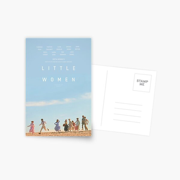 ALTERNATE LITTLE WOMEN (2019) POSTER  Postcard