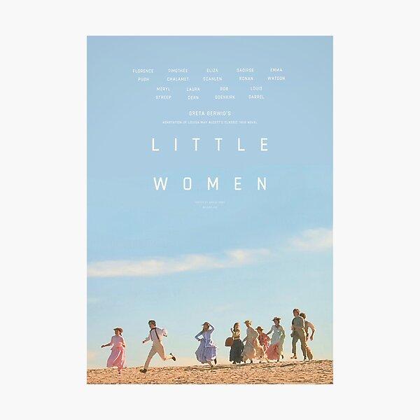 ALTERNATE LITTLE WOMEN (2019) POSTER  Photographic Print