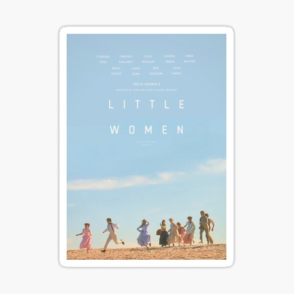 ALTERNATE LITTLE WOMEN (2019) POSTER  Sticker