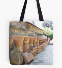 Terracotta pots Tote Bag