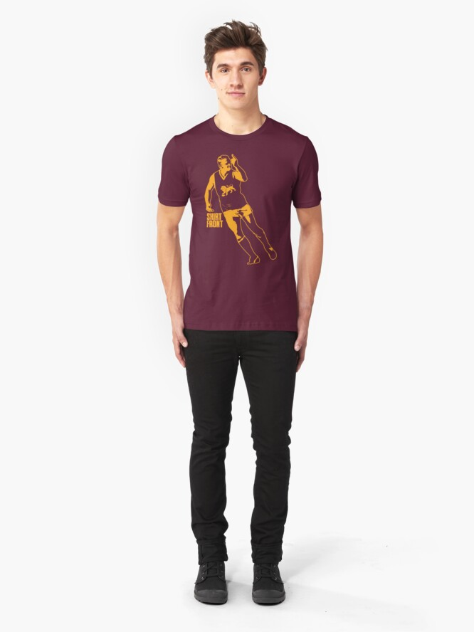 Alternate view of The Boss: Maroon Slim Fit T-Shirt
