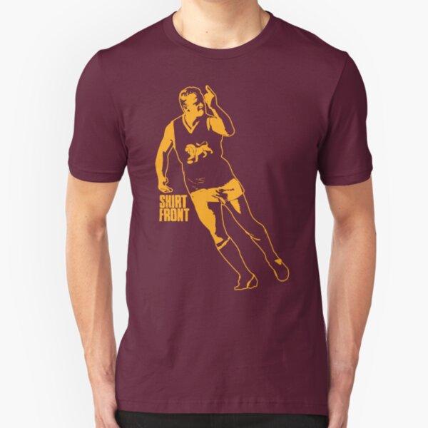 The Boss: Maroon Slim Fit T-Shirt