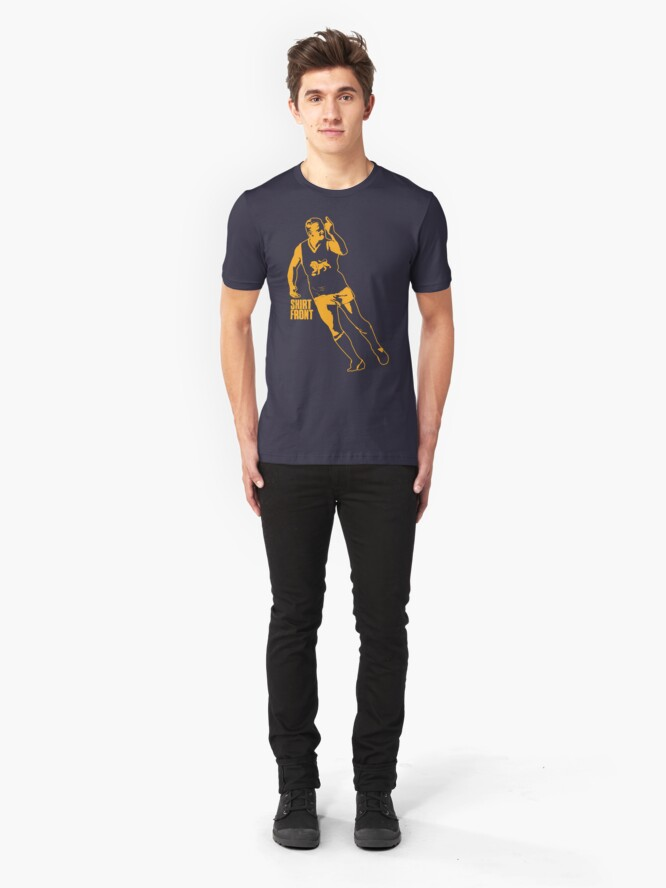 Alternate view of The Boss: Navy Slim Fit T-Shirt