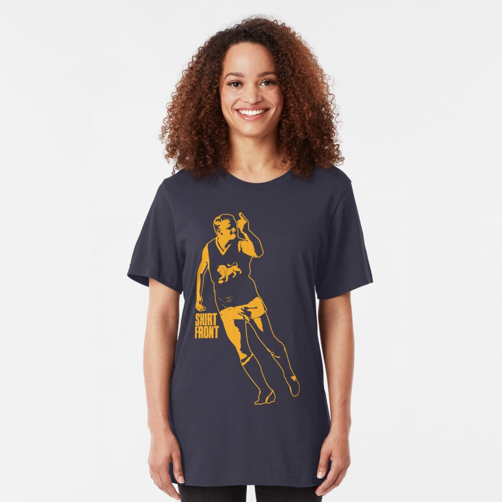 The Boss: Navy Slim Fit T-Shirt