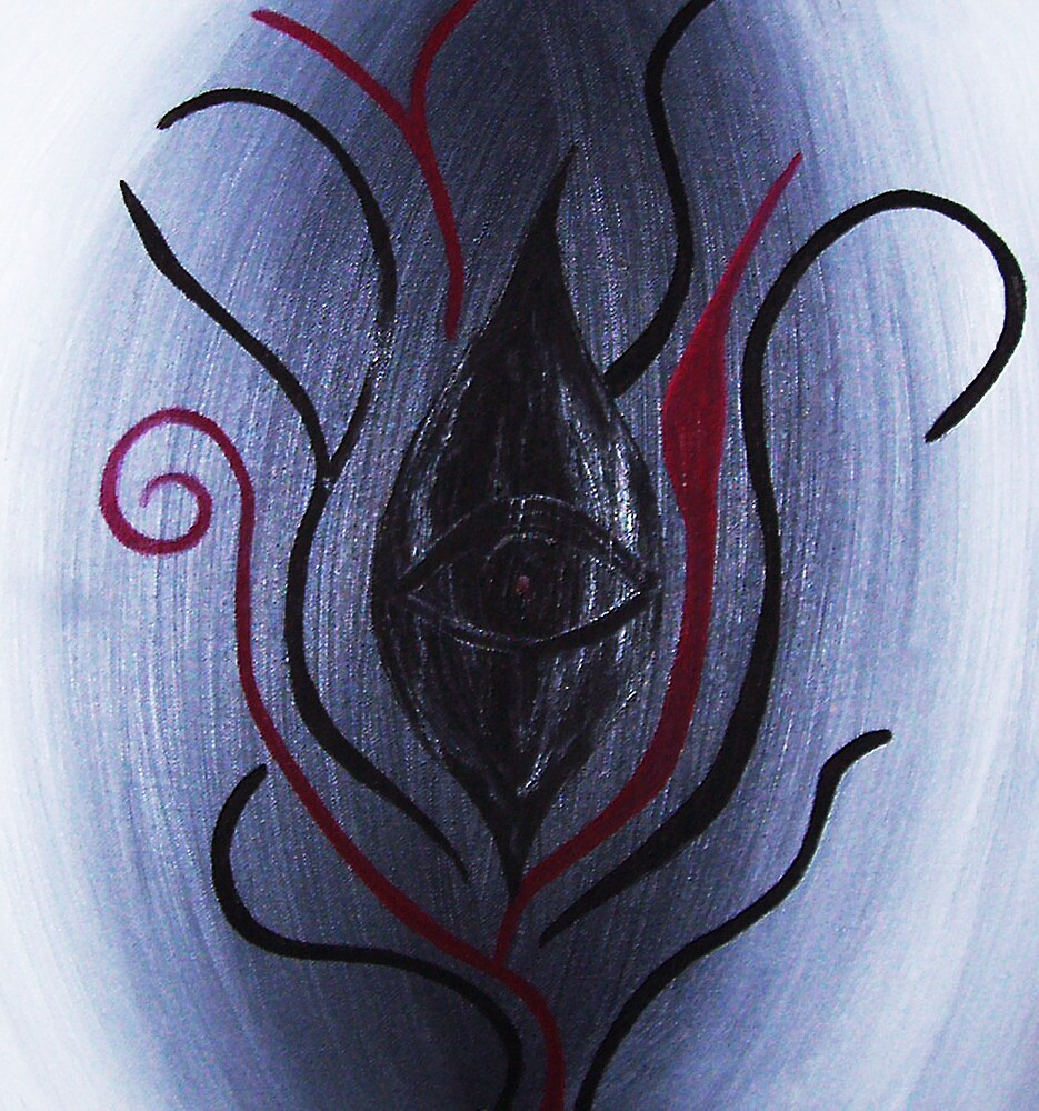 'And From My Soul Comes The Darkness' ~ Pore Space Inkling No 9 by ArtOfE