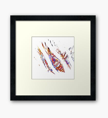 The Remains Framed Print