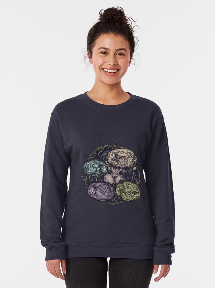 Alternate view of easter. Pullover Sweatshirt