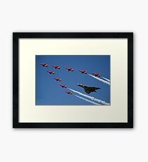 Vulcan Red Arrows Framed Print