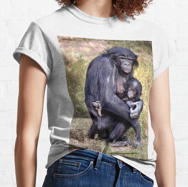 Bonobo and Her Baby Classic T-Shirt