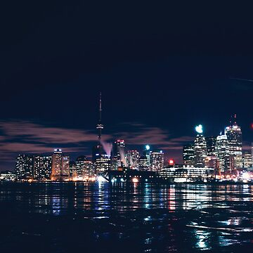 City on ice, Toronto. by juicypixels