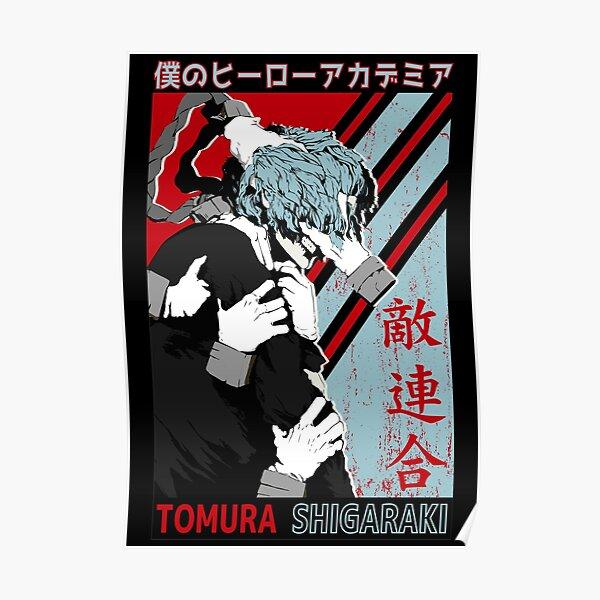 Tomura Shigaraki My Hero Academia Poster