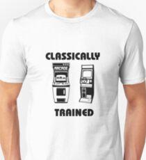 Classically Trained - Featuring Retro Arcade Machines Unisex T-Shirt