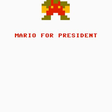 Mario for President by 72ndRedPenguin