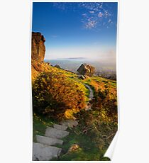 First Light at The Cow and Calf Poster